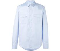 Hemd mit aufgesetzten Taschen - men - Baumwolle