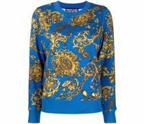 Sweatshirt mit Barocco-Print