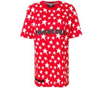 star print slogan T-shirt