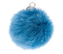 Schlüsselanhänger mit Fuchspelz-Pompon