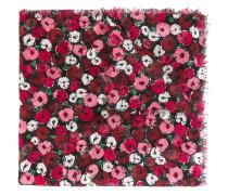 'Fleurs' large scarf