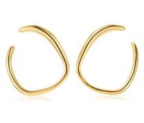 Vergoldete 'GP Nura Reef' Ohrringe