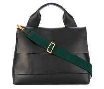 Handtasche mit trapezförmigem Design