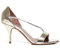 Nile snake-effect sandals