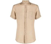 Leinenhemd mit aufgesetzter Brusttasche