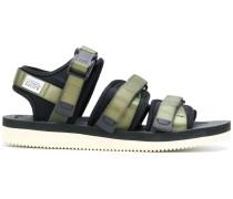 strap fastening sandals