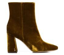 velvet 90mm ankle boots