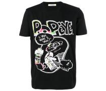 T-Shirt mit Popeye-Print