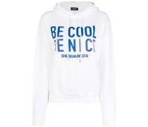 Be Nice slogan hoodie