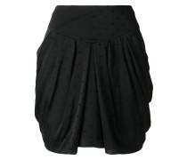 Fil Coupé draped mini skirt