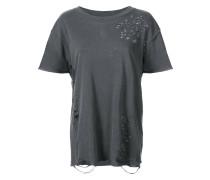 T-Shirt mit Distressed-Optik