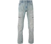 straight leg jeans - men - Baumwolle - 32