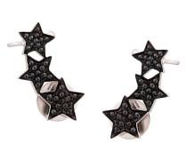 Sternförmiger 'Stasia' Ear Cuff aus 18kt Weißgold