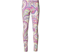 Leggings mit abstraktem Print
