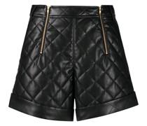 Shorts mit Reißverschluss