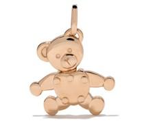 18kt Rotgoldhalskette mit Teddy-Anhänger