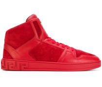 'Greek Key' High-Top-Sneakers