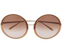 'Kew' Sonnenbrille mit rundem Gestell