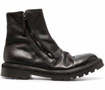 Stiefel mit Knitteroptik