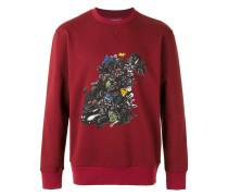 Sweatshirt mit floralem Print - men - Baumwolle