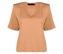 T-Shirt mit strukturierten Schultern