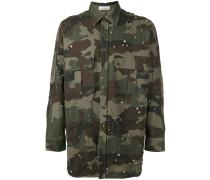 Hemd mit Camouflage-Print - men