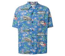 Hemd mit Hawaii-Print - men - Viskose - 39