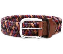 woven belt - women - Kalbsleder/Viskose - 90