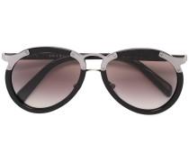 Oversized-Sonnenbrille mit Farbverlauf