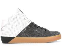 High-Top-Sneakers mit Kontrasteinsatz - men