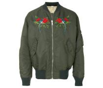 beaded bomber jacket