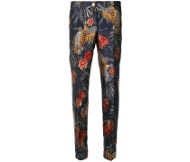 P.A.R.O.S.H. Tapered-Hose mit Tiger-Motiven