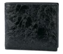- textured billfold wallet - men - Kalbsleder