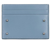 Leather Rockstud Cardholder