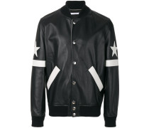 star patch bomber jacket
