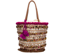 Große 'Fiji Tuk Tuk' Handtasche