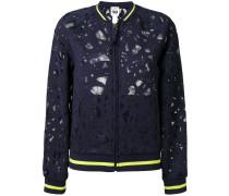 mesh bomber jacket