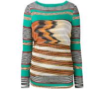 striped jumper - women - Baumwolle/Viskose - S