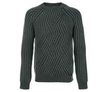 Gestrickter Merino-Pullover