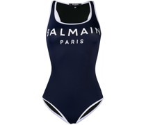 logo one-piece swimsuit