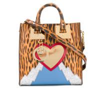 Handtasche mit Leopardenmuster - women