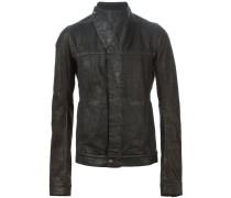 Asymmetrische Jacke mit Stehkragen