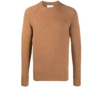 alpaca-blend crewneck jumper