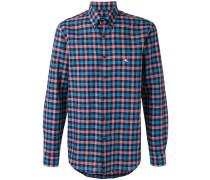 Kariertes Button-down-Hemd - men