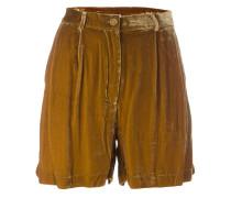 Klassische Samt-Shorts