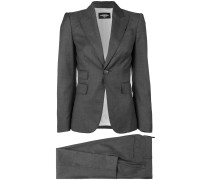 two-piece fitted suit