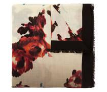 Brocade Floral print scarf