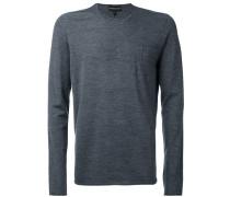 Sweatshirt mit Rundhalsausschnitt - men - Wolle
