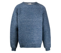 Grob gestrickter Oversized-Pullover
