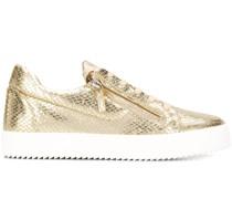 'Gail' Sneakers mit Schlangenleder-Optik